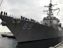 Vì sao tàu chiến Mỹ vượt eo biển Đài Loan?