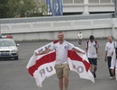 """Chùm ảnh từ Moscow: Cổ động viên Anh và Croatia """"đổ bộ"""" đến sân Luzhniki"""