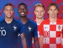 Chung kết World Cup 2018: Pháp giành ưu thế cao hơn Croatia