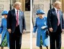 Tranh cãi chuyện Tổng thống Trump mắc lỗi với Nữ hoàng Anh trong lễ đón tiếp