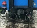 """Tàu hỏa """"đứt đuôi"""" khi đang chạy trên đường sắt Bắc - Nam"""