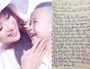 Xúc động bức thư con trai Vân Hugo gửi bố mẹ sau sang chấn tâm lý