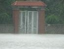 Sau bão, nhiều vùng ngập sâu trong nước lũ