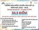 """Hà Nội: Yêu cầu trường """"nhảy múa"""" điểm chuẩn trả lệ phí khi học sinh rút hồ sơ"""