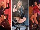 "Taylor Swift ""dầm mưa"" suốt hai tiếng trong liveshow"