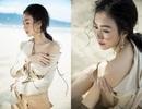 Á hậu Hà Thu gợi cảm đón sinh nhật tuổi 26