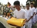 Đội bóng nhí Thái Lan bắt đầu nghi lễ đi tu sau khi được giải cứu