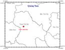4 trận động đất liên tiếp trong sáng nay ở Quảng Nam