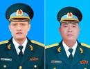 Vụ máy bay rơi: Bộ trưởng Quốc phòng quyết định thăng quân hàm cho 2 phi công