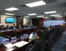 Lãnh đạo cấp cao của Đảng và Chính phủ Lào  thăm và làm việc tại EVN