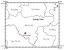 Hai ngày, 6 trận động đất xảy ra ở miền núi Quảng Nam