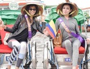Thí sinh Quốc tế Hoa hậu đại sứ du lịch gây chú ý khi tham quan phố cổ Hội An bằng xích lô