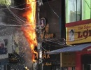 Vụ trụ điện cháy nổ như pháo hoa: Do quá tải công tơ điện