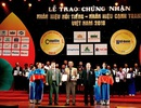 """Xi Măng Sông Gianh -""""Top 50 Nhãn hiệu nổi tiếng Việt Nam 2018"""""""