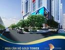 Dự án Gold Tower đạt tiến độ thi công 'thần tốc'