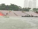 Tàu chở container và sà lan chở cát va nhau, 2 người mất tích