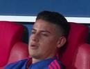 James Rodriguez rơi lệ nhìn Colombia bị Anh khuất phục