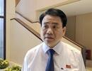 Chủ tịch Hà Nội yêu cầu xác minh tàu công an trong clip cát tặc lộng hành