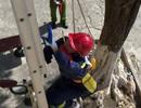Xem lính cứu hoả tương lai phô diễn khả năng leo nhà cao tầng