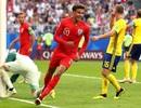 """Thụy Điển 0-2 Anh: """"Tam sư"""" tiến vào bán kết"""
