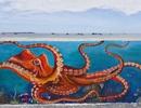 Quảng Ngãi: Lý Sơn có tuyến đường bích họa ven biển