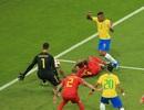 Brazil đã mất oan quả phạt đền trước Bỉ?