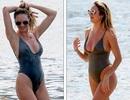 Candice Swanepoel tung tăng khoe dáng với áo tắm