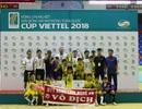 SL Nghệ An lần thứ 2 liên tiếp giành chức vô địch Giải bóng đá Nhi đồng toàn quốc 2018
