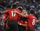 """MU 2-1 Leicester: Pogba, Shaw đưa """"Quỷ đỏ"""" tới chiến thắng"""