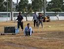 Olympic Việt Nam tập trên mặt sân như ruộng cày tại Indonesia