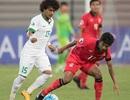 Thua đậm Saudi Arabia, Olympic Myanmar đối diện với nguy cơ bị loại