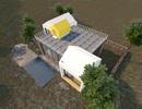 """Gợi ý mẫu thiết kế biệt thự nhà vườn """"mini"""" với chi phí khoảng trên 700 triệu đồng"""