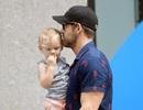 Tài tử phim Deadpool lộ diện bên con gái nhỏ