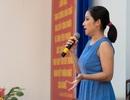 Diễn viên Cát Tường giản dị đồng hành cùng bà con tiết kiệm nước