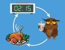 Vì sao ăn đêm gây tăng cân?