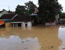 Nước đổ về quá nhanh, hơn 100 nhà dân ngập sâu hơn 1m