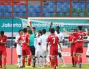 """Trọng tài """"bẻ còi"""" ở trận đấu Olympic Triều Tiên-Saudi Arabia"""