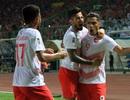 Đánh bại Hong Kong (Trung Quốc), Olympic Indonesia giành ngôi đầu bảng
