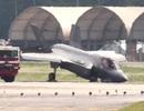 Máy bay chiến đấu F-35 của Mỹ gẫy càng, cắm mũi xuống đường băng