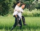 """9X """"khoe"""" bộ ảnh tình cảm bên người mẹ nông dân ngày Vu Lan"""