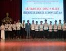 Trao 144 suất học bổng Vallet đến HS, SV và các nhà nghiên cứu trẻ tiêu biểu tại Nghệ An