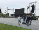 Lắp màn hình 70m2 tại Quảng trường Hồ Chí Minh phục trận Việt Nam - Syria