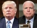 Tổng thống Trump bị chỉ trích vì ngăn Nhà Trắng ca ngợi ông John McCain