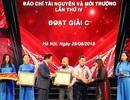 Báo Dân trí đoạt giải báo chí Tài nguyên và Môi trường với loạt bài vụ áp thuế chấn động