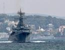 """Giải mã sự hiện diện của hàng loạt tàu chiến Nga gần """"chảo lửa"""" Syria"""