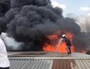 TPHCM: Cháy hàng hơn 5.000m2 nhà xưởng tại KCN Nhị Xuân
