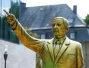 Tượng vàng của Tổng thống Thổ Nhĩ Kỳ gây tranh cãi ở Đức