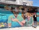 Quảng Ngãi: Bích họa 3D tuyệt đẹp mang thông điệp bảo vệ rùa biển