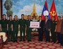 Bộ Quốc phòng hỗ trợ Lào 50.000 USD khắc phục sự cố vỡ đập thuỷ điện