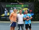 Giải quần vợt phong trào thu hút lượng người tham dự đông đảo